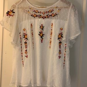 🌸Embroidered Spring Top🌸